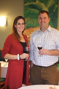 Goosecross owner Christi Coors Ficelli and Chief Winemaker Bill Nancarrow